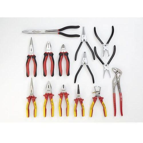 Zestaw narzędzi FORCE, obcęgi i wyposażenie dodatkowe, 14-częściowy, luzem (bez
