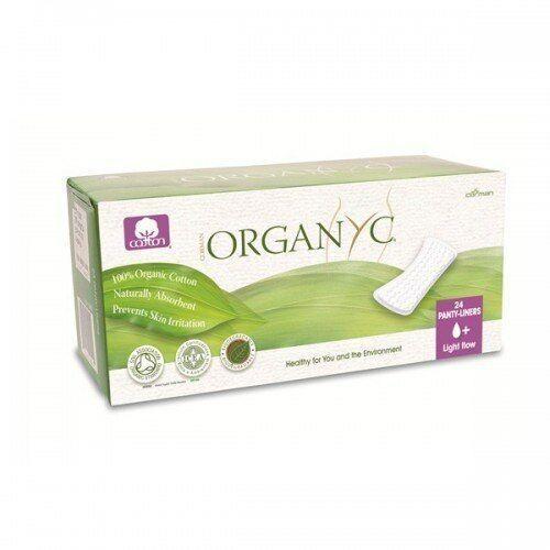 Cienkie wkładki higieniczne z bio-bawełny (♠+) (8016867008945)