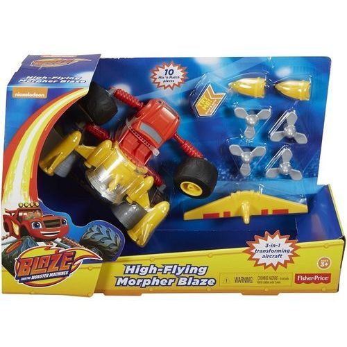 - blaze monster latający dyp38 marki Fisher price