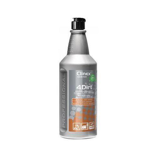 Clinex Preparat 4dirt 1l 77-640, do usuwania tłustych zabrudzeń