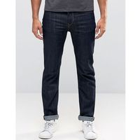 Lee Rider Stretch Slim Jeans Rinse Wash - Blue, jeansy