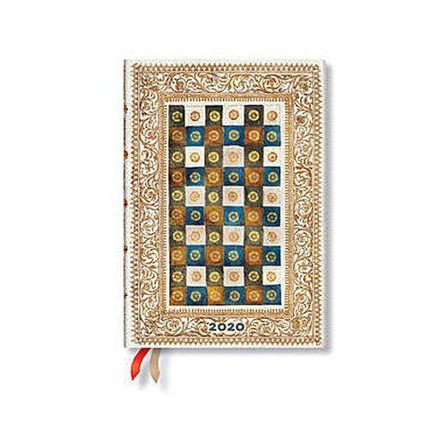 Kalendarz 2020 książkowy midi horizontal aureo 12m marki Paperblanks