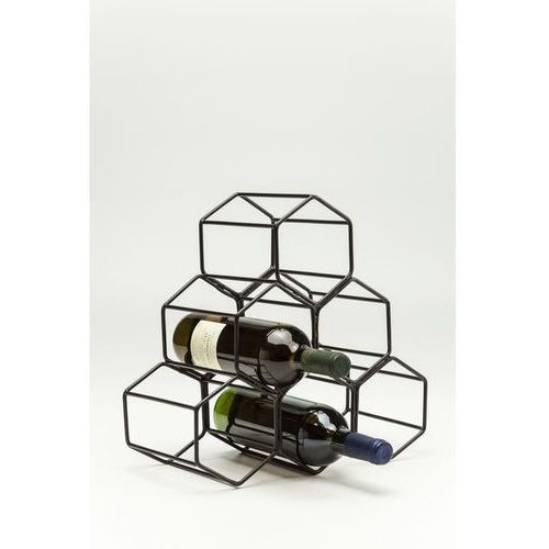 Stojak na wino Black Hornet Small by Kare Design