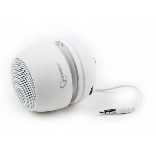 Gembird Głośnik mobilny SPK-103 Biały (wbudowana bateria) DARMOWA DOSTAWA DO 400 SALONÓW !! - sprawdź w wybranym sklepie