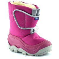 Ren but Śniegowce dla dzieci marki renbut / muflon 22-388 - fuksja