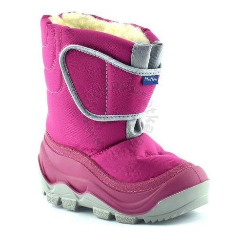 Śniegowce dla dzieci marki renbut / muflon 22-388 - fuksja marki Ren but