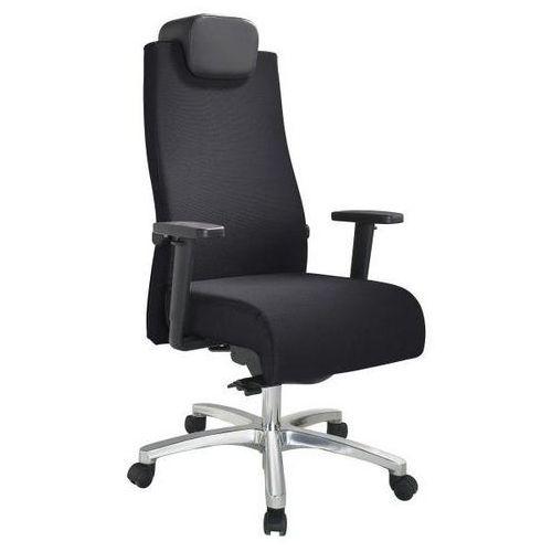 Krzesło obrotowe dla operatora, obciążenie do 150 kg, mechanizm punktowo-synchro