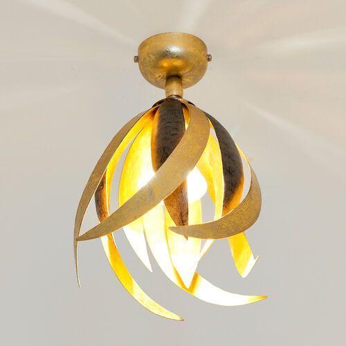 Holländer prospero lampa sufitowa czarny, brązowy, złoty, 1-punktowy - nowoczesny/ponadczasowy - obszar wewnętrzny - prospero - czas dostawy: od 10-14 dni roboczych