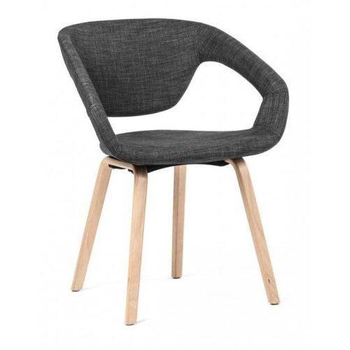 Krzesło fureso tapicerowane szary marki Malodesign