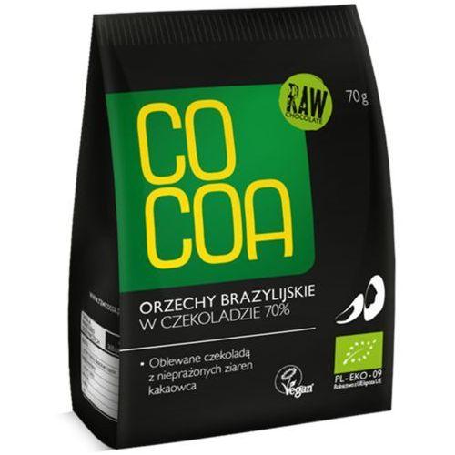 Cocoa Orzechy brazylijskie w surowej czekoladzie bio 70g -