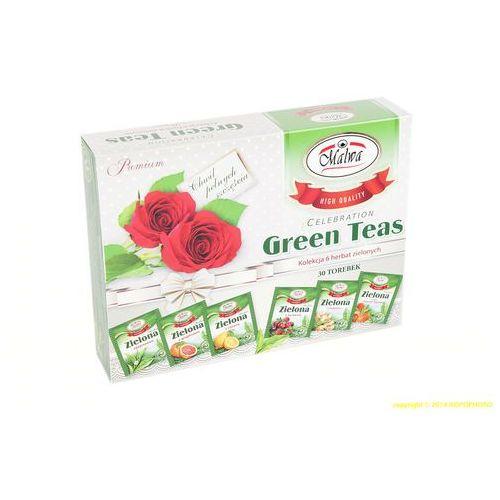 Green tea zestaw herbata zielona malwa herbat na prezent marki Malwa tea