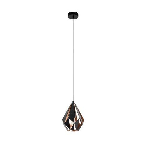 Eglo 49997 - żyrandol na lince carlton 1xe27/60w/230v