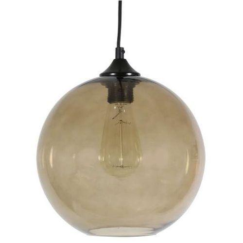edison 31-21397 lampa wisząca 25 1x60w e27 bursztynowy + żarówka marki Candellux