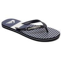 Quiksilver Japonki - molokai tijuan black/blue/grey (xkbs) rozmiar: 44