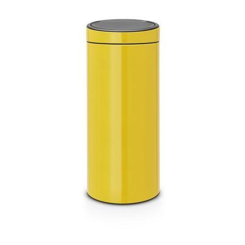 Brabantia - kosz touch bin - 30 l - plastikowe wiaderko - żółty - żółty (8710755115240)