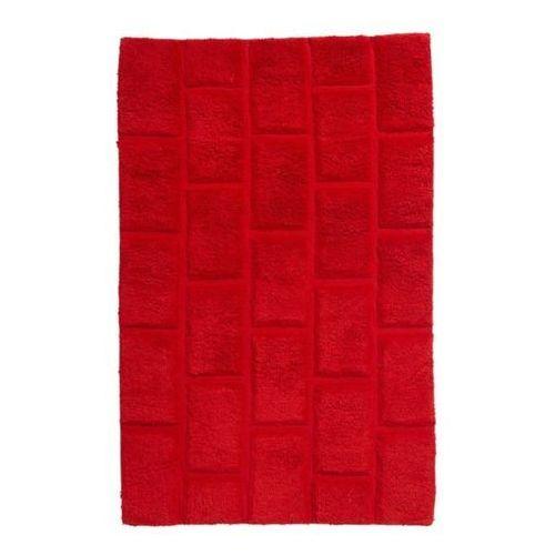 Dywanik łazienkowy Cooke&Lewis Managua 60 x 90 cm czerwony, BATHMAT 52