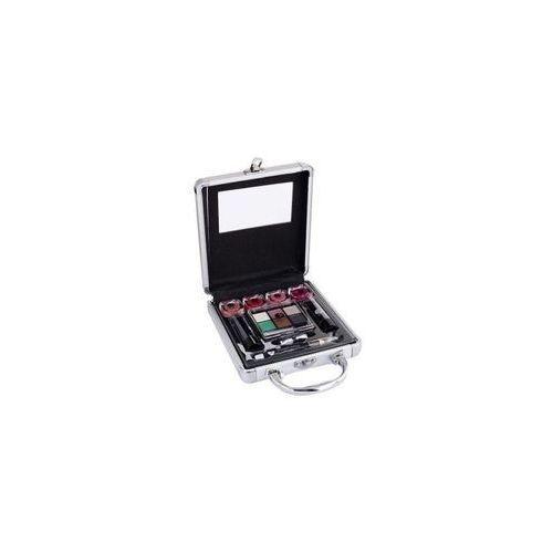 2K Beauty Basic Train Case zestaw Complete Makeup Palette dla kobiet (4250979340058)