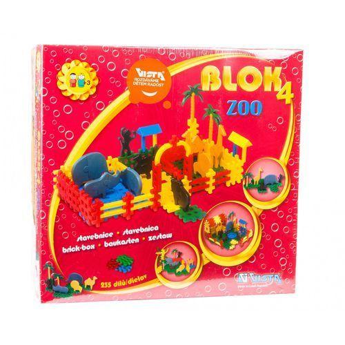 VISTA Klocki Blok 4 ZOO – plastik 235 szt.