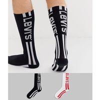 2 pack vintage cut race logo socks - multi, Levi's