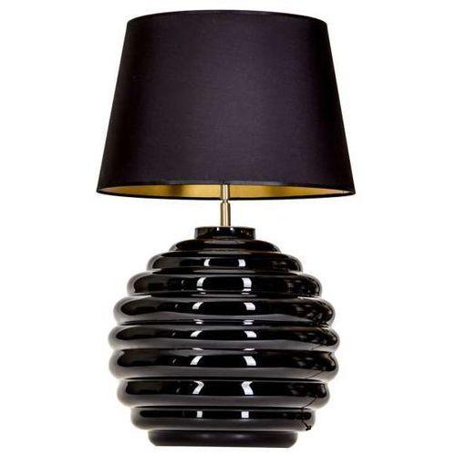 Lampa oprawa stołowa 4Concepts Saint Tropez Black 1x60W E27 czarny/złoty L215222240 (5901688144237)