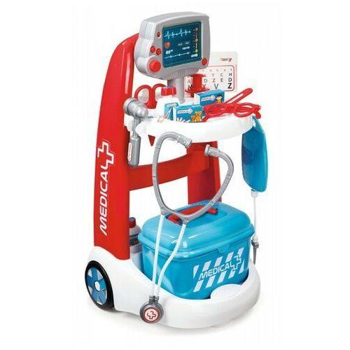 Elektroniczny wózek medyczny marki Smoby