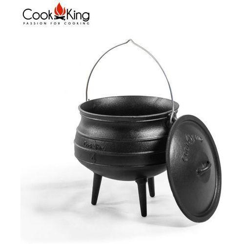 Kociołek afrykański żeliwny 6l, CookKing