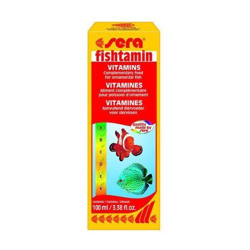 SERA Fishtamin - wielowitaminowy preparat do akwariów, stawów i oczek wodnych 100ml