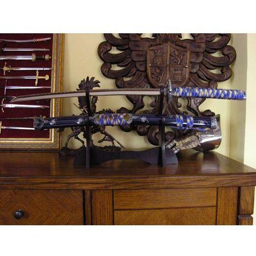 Płatnerze hiszpańscy Bogato zdobione wakizashi ze stali toledańskiej (147348)