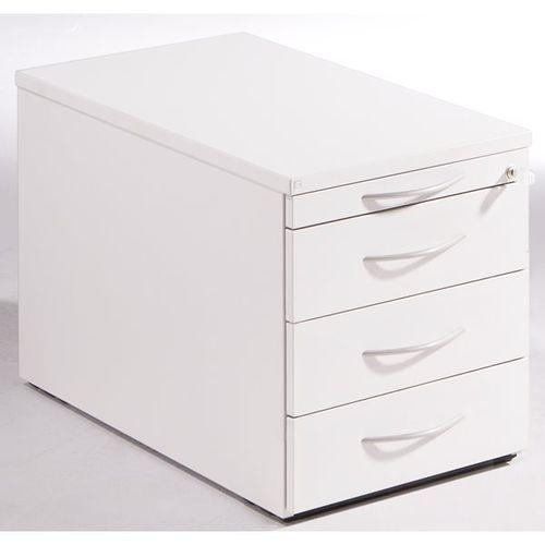 THEA - Kontener na kółkach, szuflada na przybory, 3 szuflady na dokumenty, stara