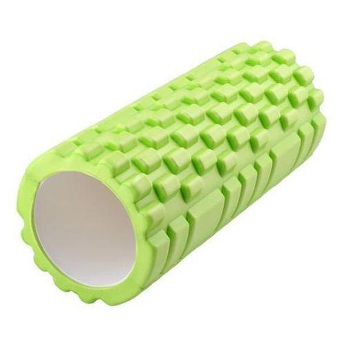 Roller Wałek do Masażu Ćwiczeń Fitness Pilates - Zielony