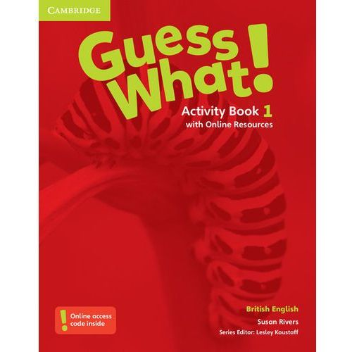 Guess What! 1 Activity Book with Online Resources - Wysyłka od 3,99, Cambridge University Press