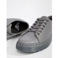 Dr martens dante 6-eye shoes in grey - grey