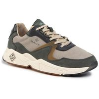 Gant Sneakersy - portland 19633856 forest green/gray g739
