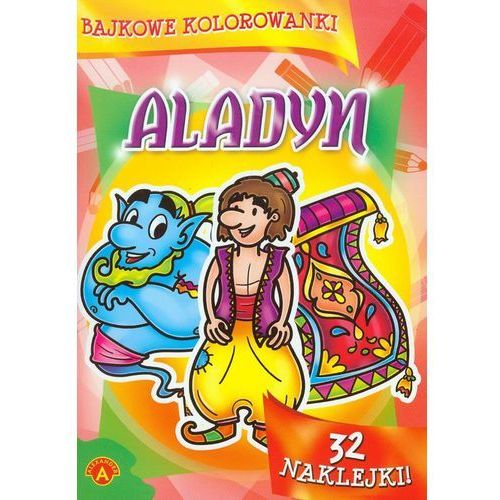 Bajkowe kolorowanki Aladyn - Praca zbiorowa - Zostań stałym klientem i kupuj jeszcze taniej