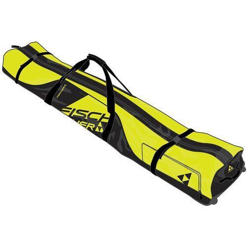 Pokrowce na narty zjazdowe Alpine Race 1 pair + wheels 195 cm Czarny 195 Żółty