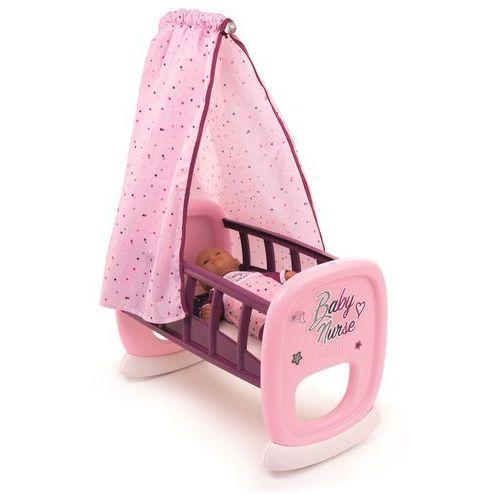 baby nurse kołyska dla lalek z baldachimem marki Smoby