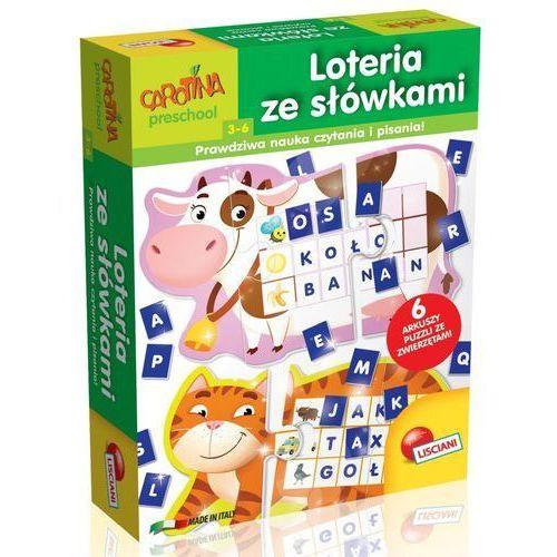 Carotina loteria ze słówkami marki Liscianigiochi