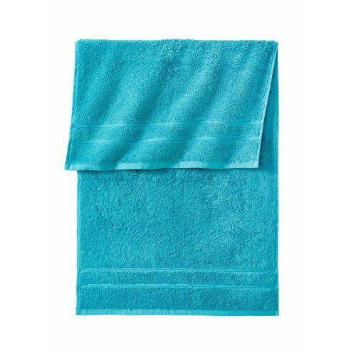 Ręczniki z ciężkiego materiału niebieskozielony morski marki Bonprix