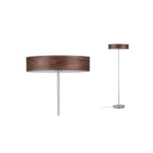 Oprawa podłogowa Neordic Liska, 3-lampowa Wood ciemna / chrom matowa, PAULMANN 79685