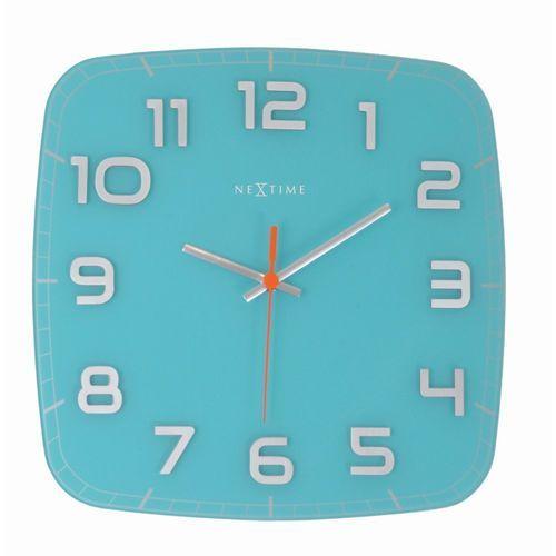 NeXtime - zegar ścienny Classy - turkusowy