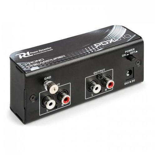 Power Dynamics PDX010 Przedwzmacniacz phono phono-line przedwzmacniacz stereo (8715693289442)