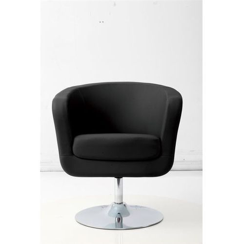 Fotel Magnum K-biały, S- czarne, d2-4297