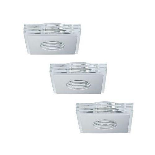 Paulmann 92723 - zestaw 3x led opraw łazienkowych premium line 3xgu10/3,5w/230v (4000870927236)