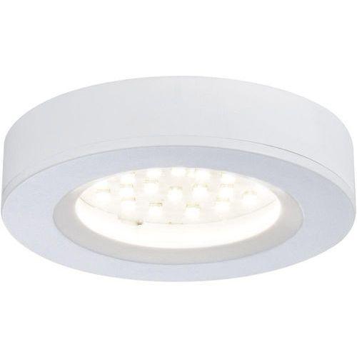 Oprawy LED do zabudowy Paulmann Platy 93573, LED wbudowany na stałe x 3;2.5 W, 12 V, (ØxW) 7 cmx1.5 cm, biały (4000870935736)