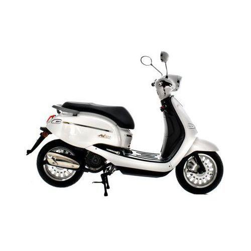 Motocykl TORQ Moko 125 Biały DARMOWY TRANSPORT (5902249472271)
