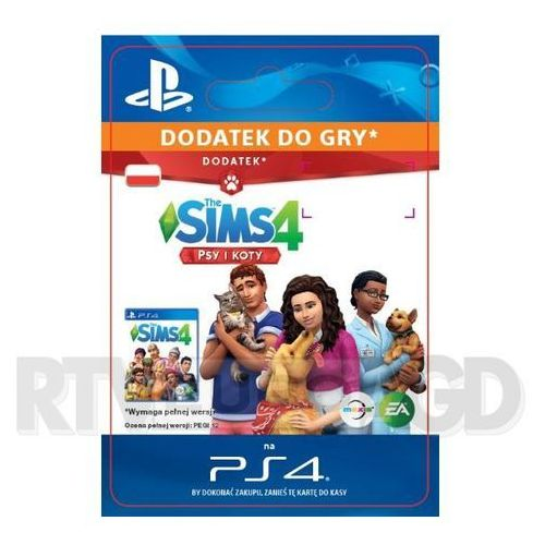 The Sims 4 - Psy i Koty DLC [kod aktywacyjny] PS4 (0000006201203)