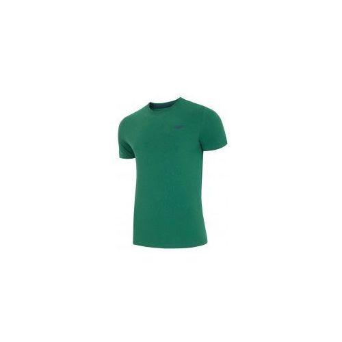 4F Koszulka Męska T-SHIRT L18 TSM002 Zielony roz M (5901965894787)