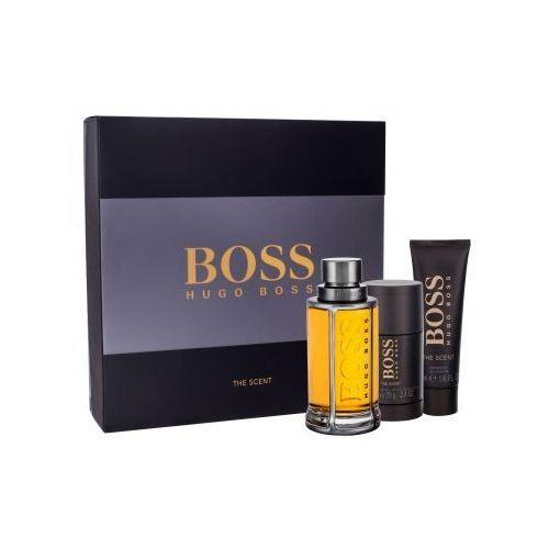 boss the scent zestaw edt 100ml + 50ml żel pod prysznic + 75ml deostick dla mężczyzn marki Hugo boss