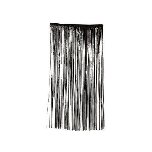 Kurtyna halloween- zasłona na drzwi czarna - 100 x 200 cm (8434077199626)