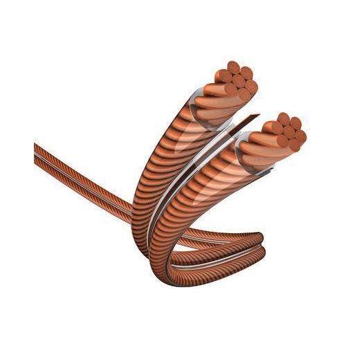 Przewód głośnikowy 2 x 4 mm² Przezroczysty Inakustik 0060244 80 m